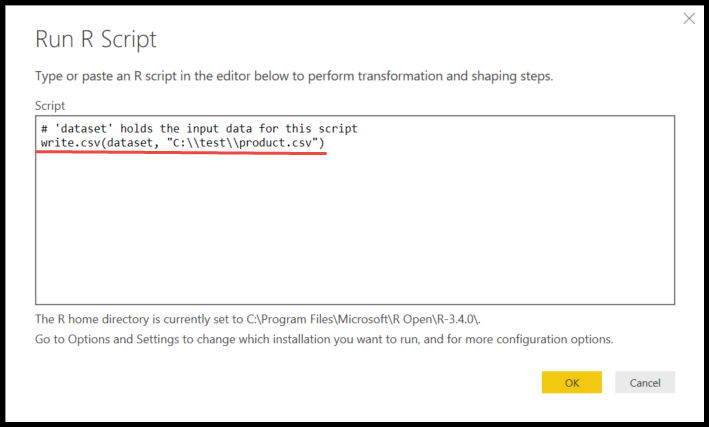 Quick Tips – Export data from Power BI using R | Mitchellsql