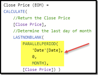 Semi additive measures in DAX and Closingbalancemonth | Mitchellsql